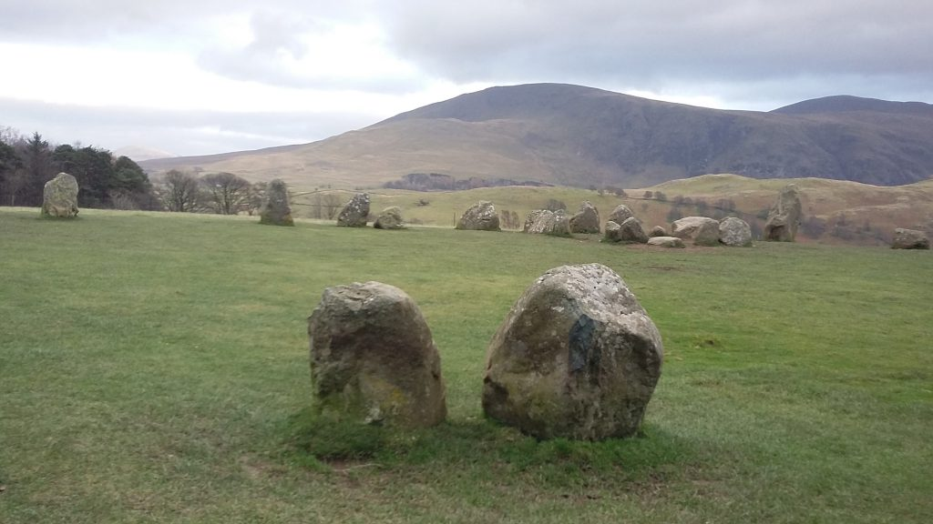 A couple of Stones, Castlerigg. Ursula